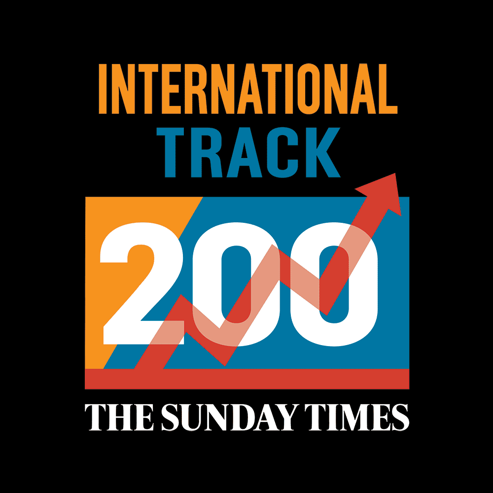 DK Engineering - Ranked position 42 in The Sunday Times International Track 200 index