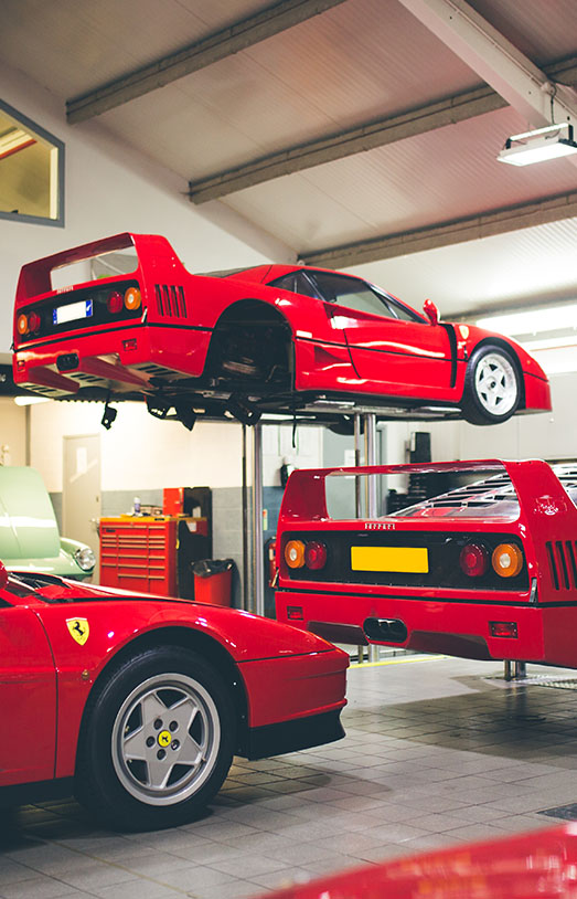 The Ferrari Specialists - Contemporary Ferrari Servicing