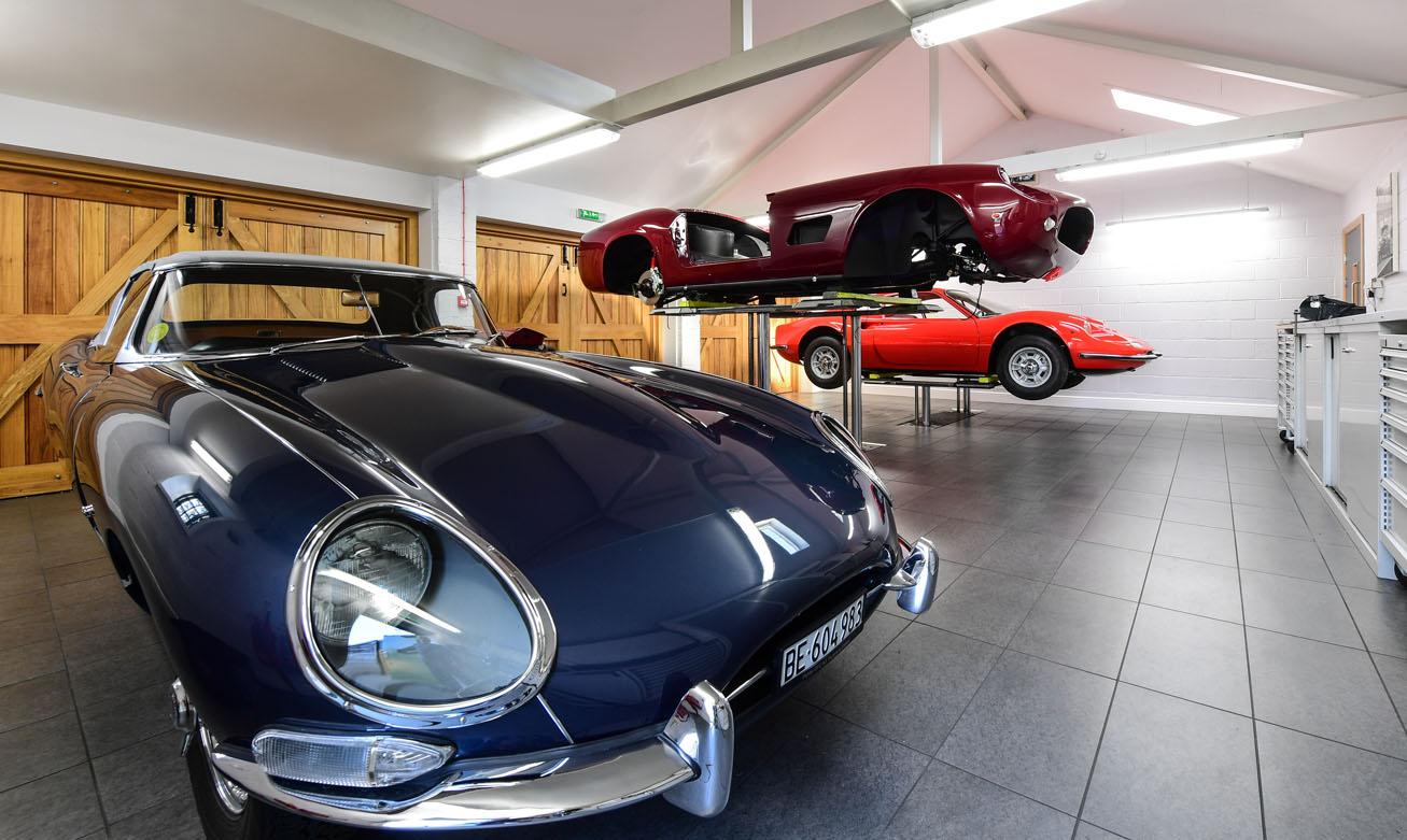 Ferrari Focused Facilities DK Engineering
