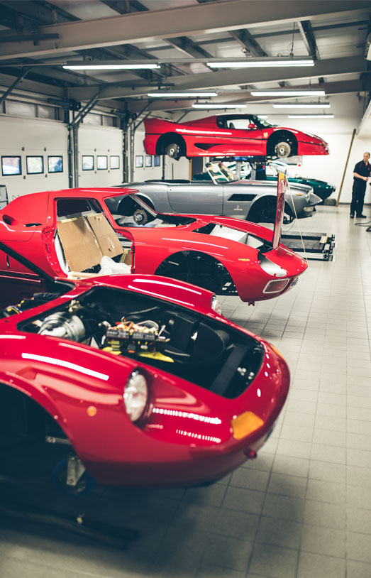The Ferrari Specialists - The Workshop