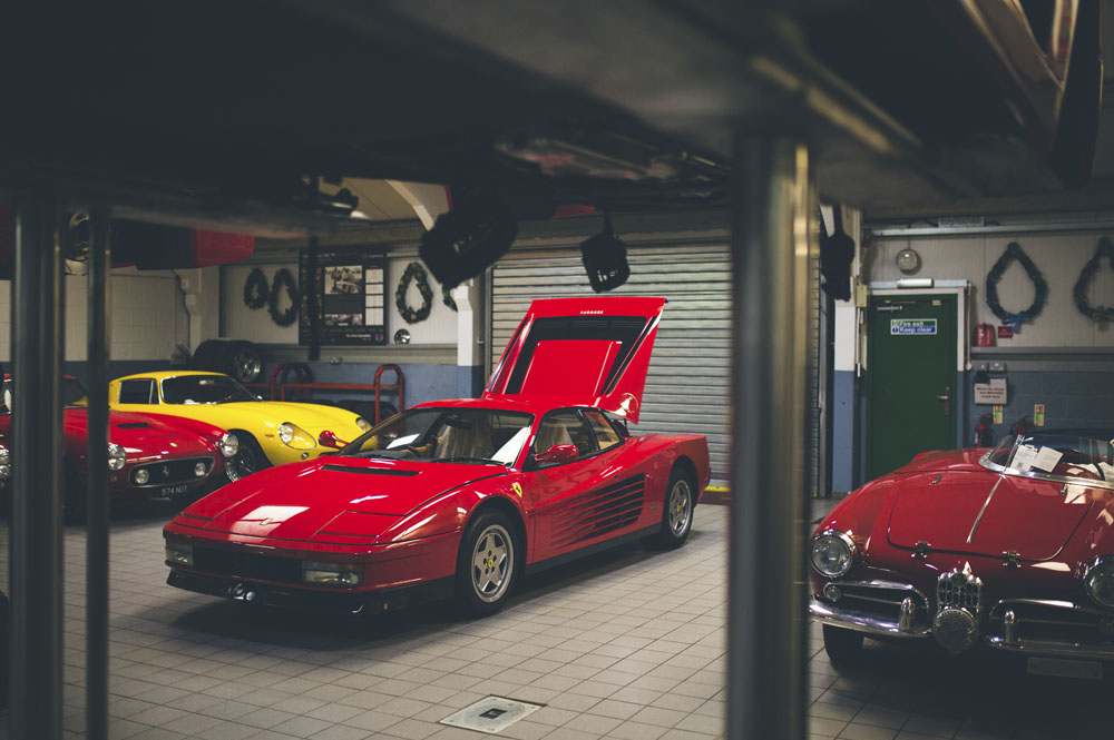 Contemporary Ferrari Servicing DK Engineering