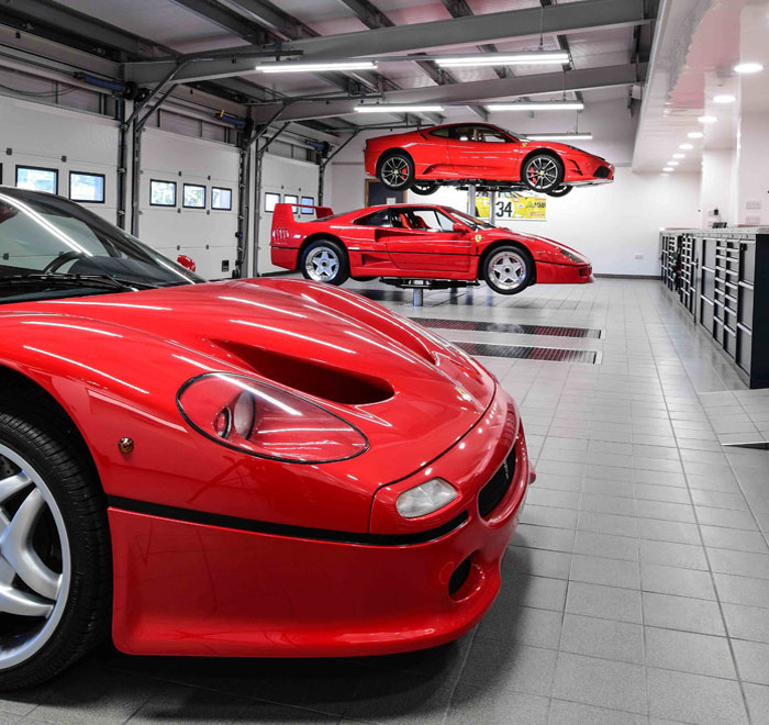 Ferrari Focused Facilities Chorleywood, Hertfordshire