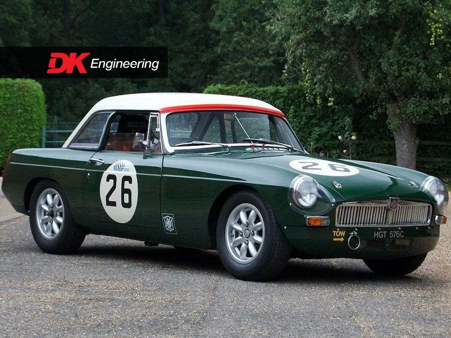 Vehicle Archive - MGB FIA Roadster - Vehicle Sales - DK Engineering