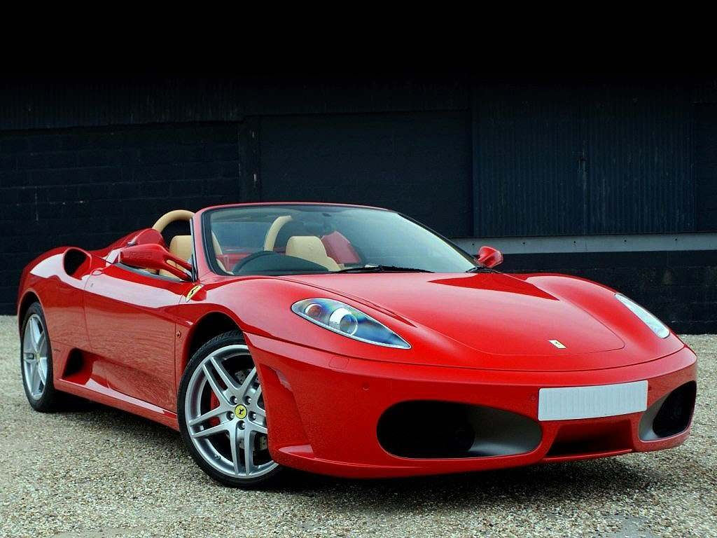 Red Ferrari F430 Spider Wallpaper