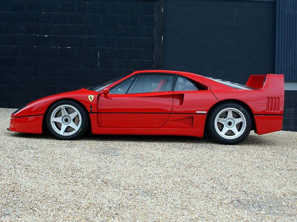 Vehicle Archive Prestige Cars Ferrari F40