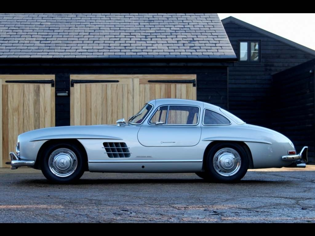 Vehicle archive mercedes benz 300sl coupe gullwing for Mercedes benz salesman
