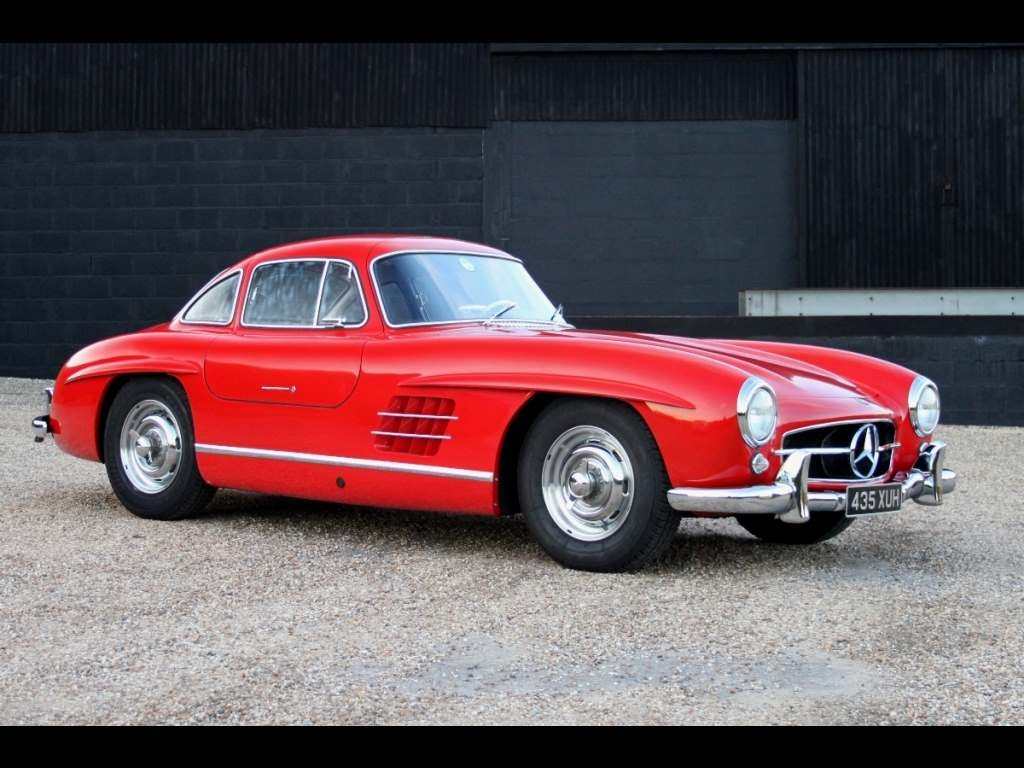 Mercedes benz 300 sl coupe gullwing