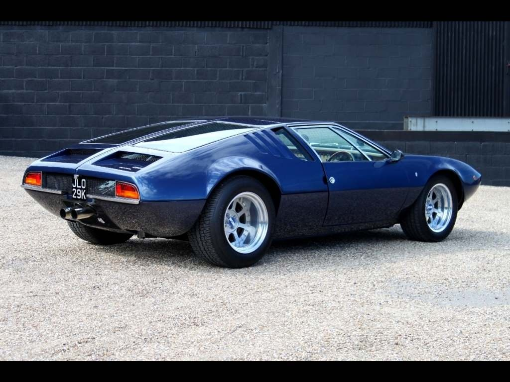 F 150 Cobra >> De Tomaso Mangusta for sale - Vehicle Sales - DK Engineering