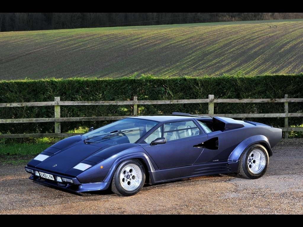 Lamborghini Countach 5000 Qv Quot 88 5 Quot For Sale Vehicle