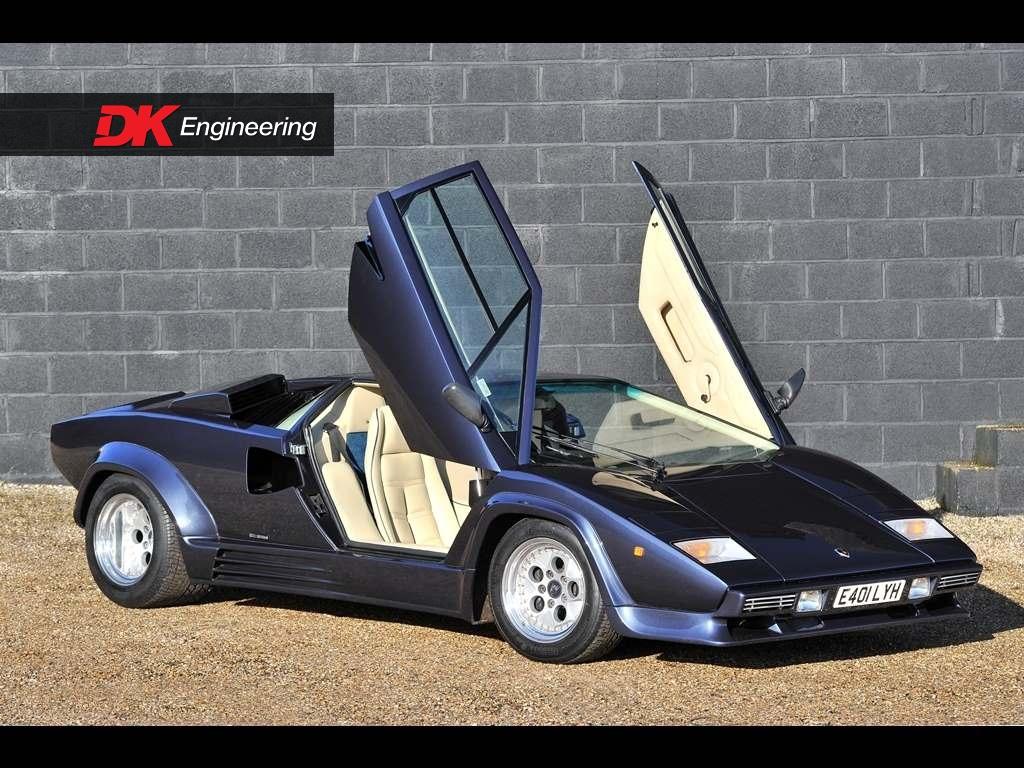 Lamborghini Countach 5000 Qv 88 5 For Sale Vehicle Sales Dk
