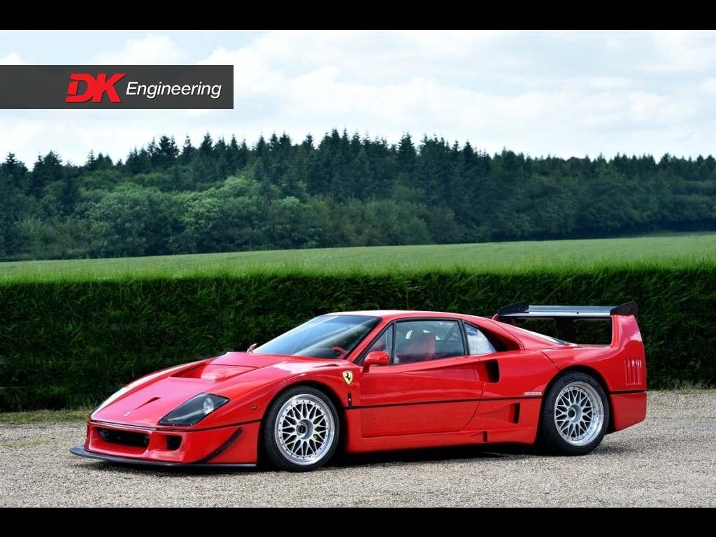 Ferrari F40 Quot Gt Quot For Sale Vehicle Sales Dk Engineering