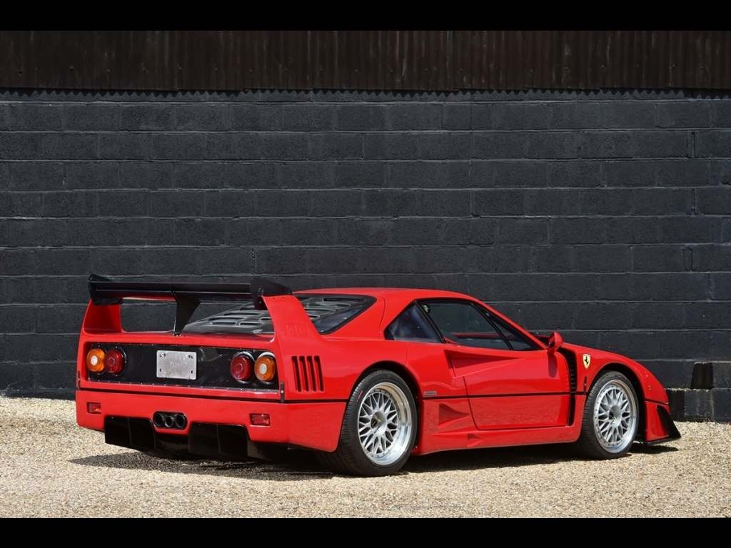"Ferrari F40 For Sale >> Ferrari F40 ""GT"" for sale - Vehicle Sales - DK Engineering"