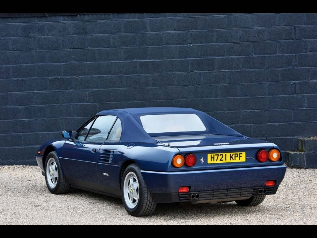 ferrari mondial t cabriolet for sale. Black Bedroom Furniture Sets. Home Design Ideas