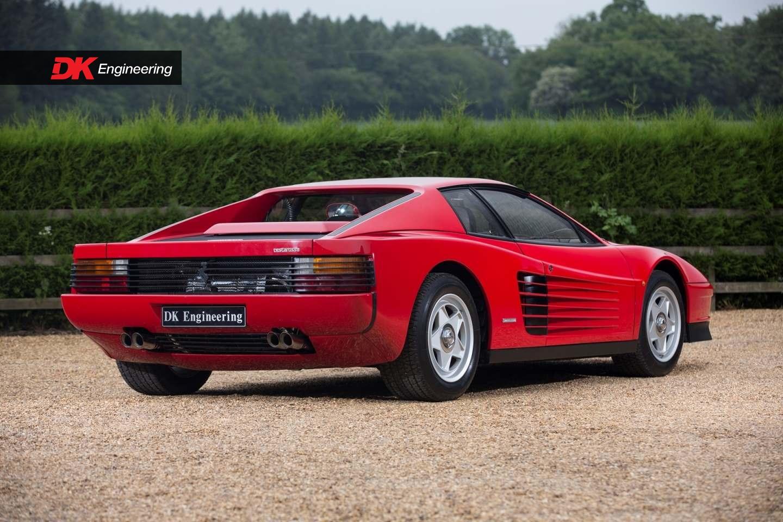 Ferrari Testarossa For Sale Vehicle Sales Dk Engineering