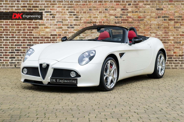alfa romeo 8c spider for sale vehicle sales dk engineering. Black Bedroom Furniture Sets. Home Design Ideas