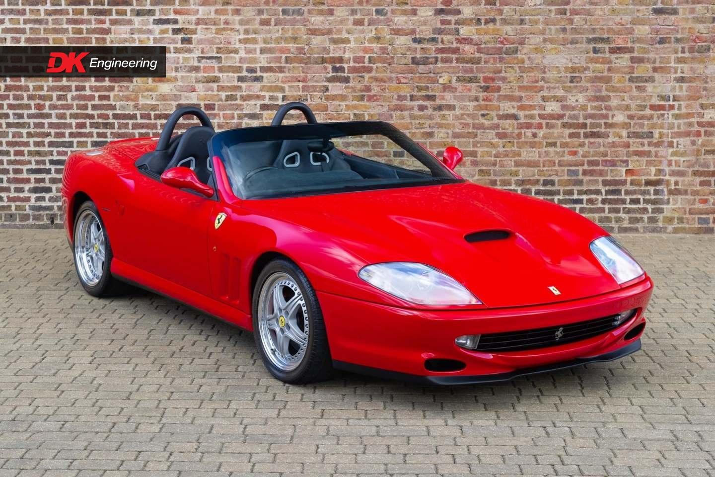 Ferrari 550 Barchetta For Sale Vehicle Sales Dk Engineering
