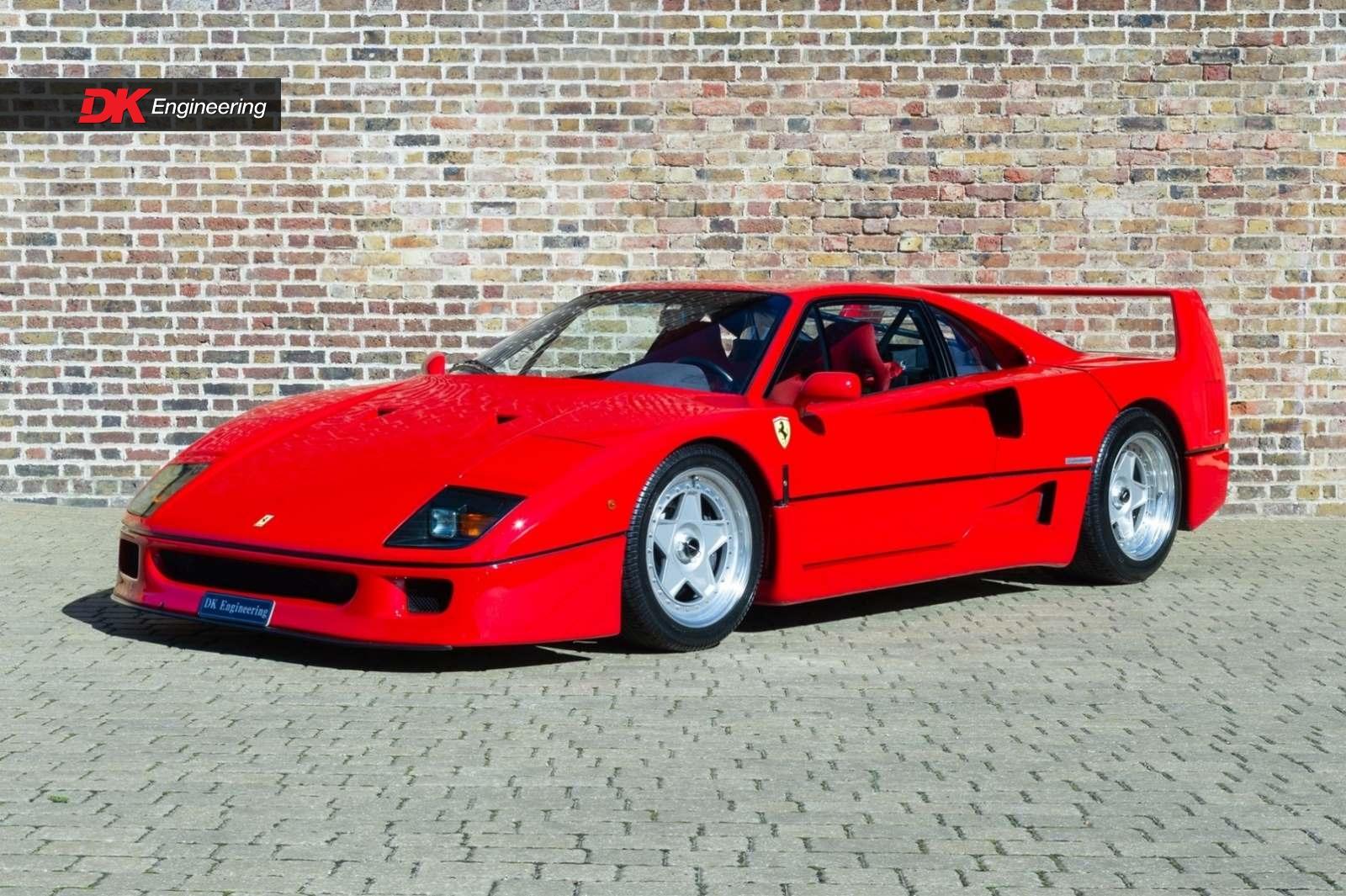 Ferrari F40 for sale - Vehicle Sales - DK Engineering