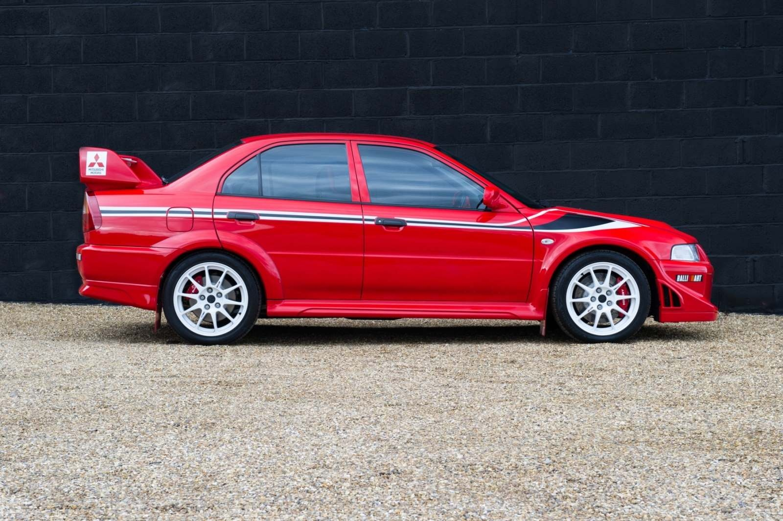 Vehicle Archive - Mitsubishi Evolution 6 'Tommi Makinen