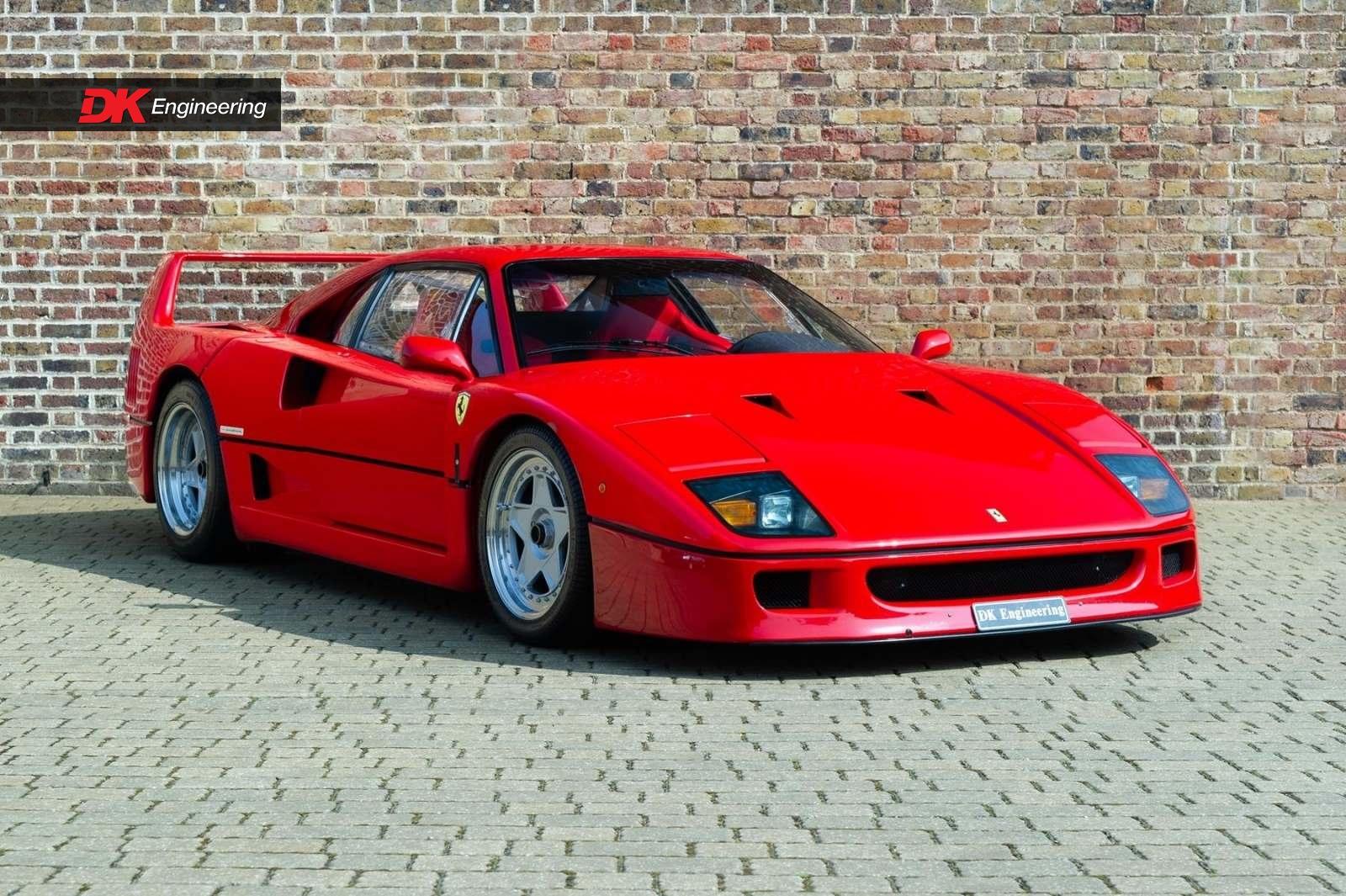 Ferrari 288 Gto For Sale >> Ferrari F40 for sale - Vehicle Sales - DK Engineering