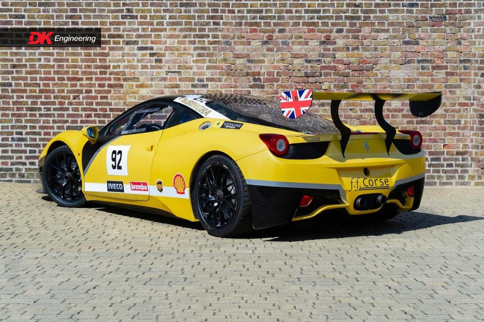 Ferrari 458 Challenge Evo For Sale Vehicle Sales Dk Engineering